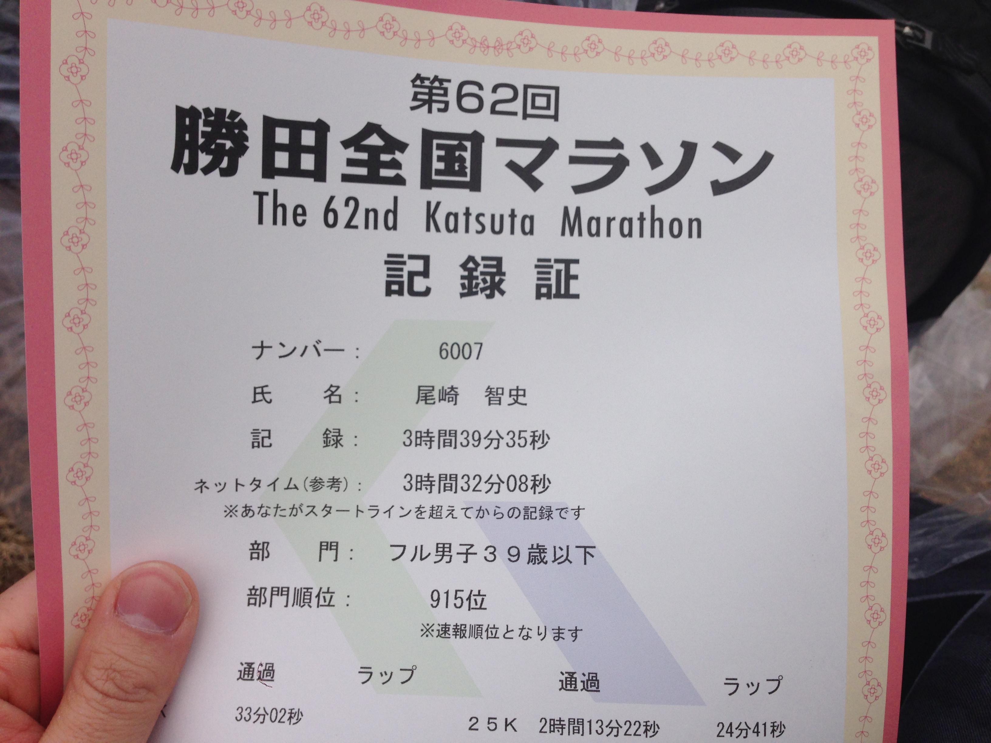 マラソン歴3年ランナーの頭の中をすべて公開します。その5