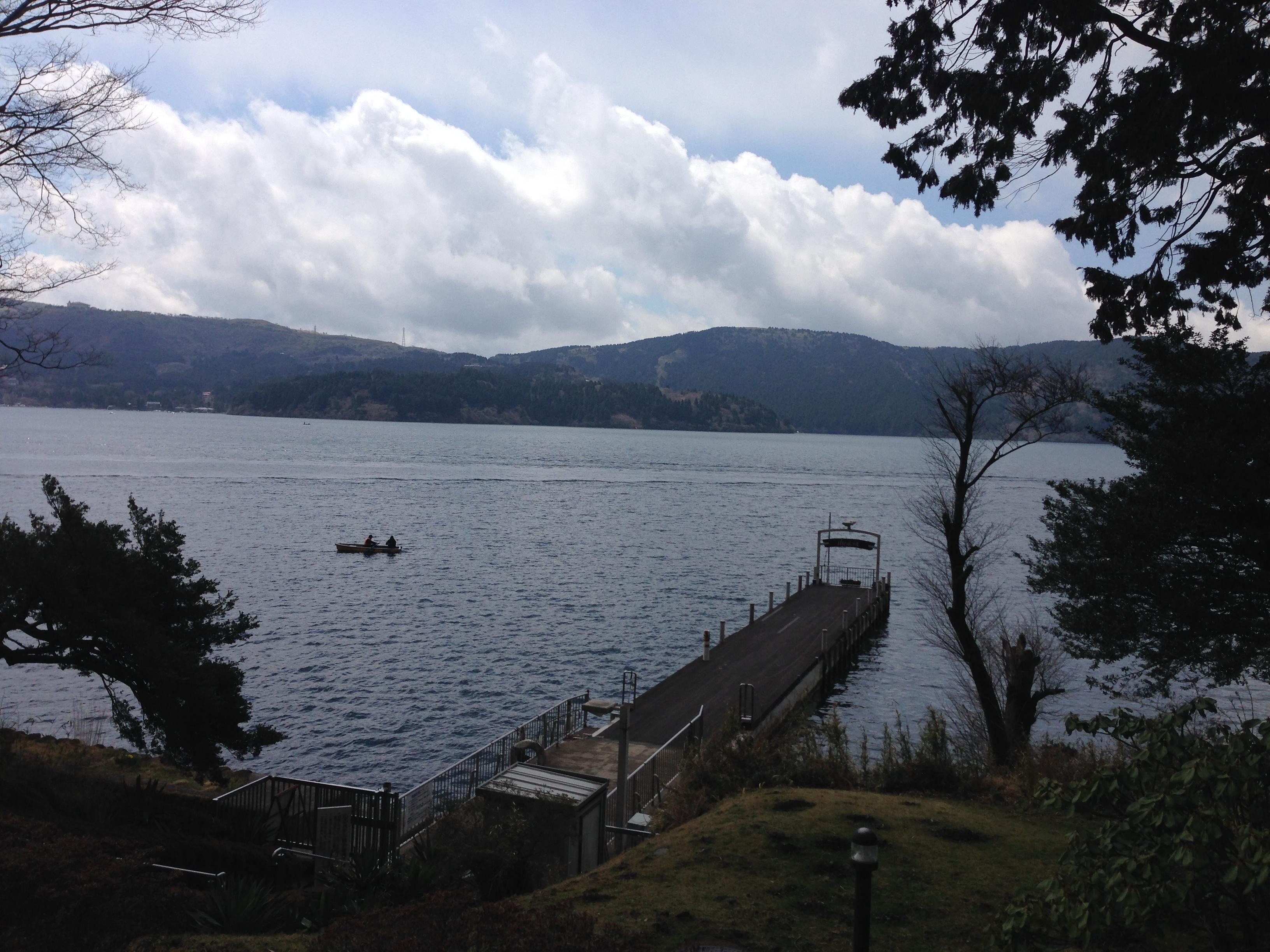 人生は,靄のかかった芦ノ湖である。