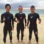 Road To Triathlete~第1回久米島トライアスロンでトライアスリートになったカナヅチ男の物語その12~レース編その1