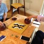 第一棋の9路盤名人になりました!囲碁上達の秘訣は対局数を増やすこと。