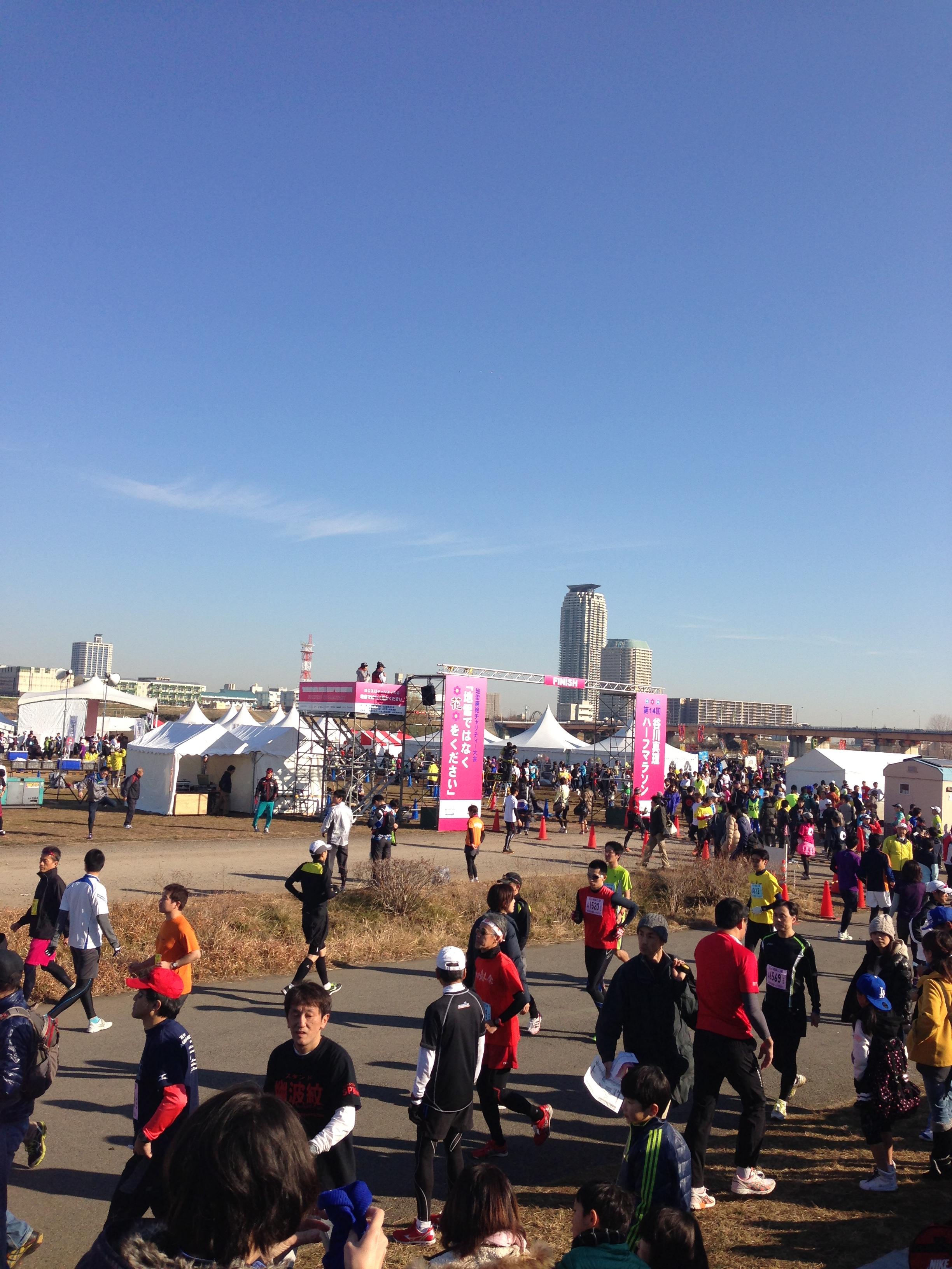 1月31日の新宿ハーフマラソンで1時間30分を切るために心臓をいじめます。