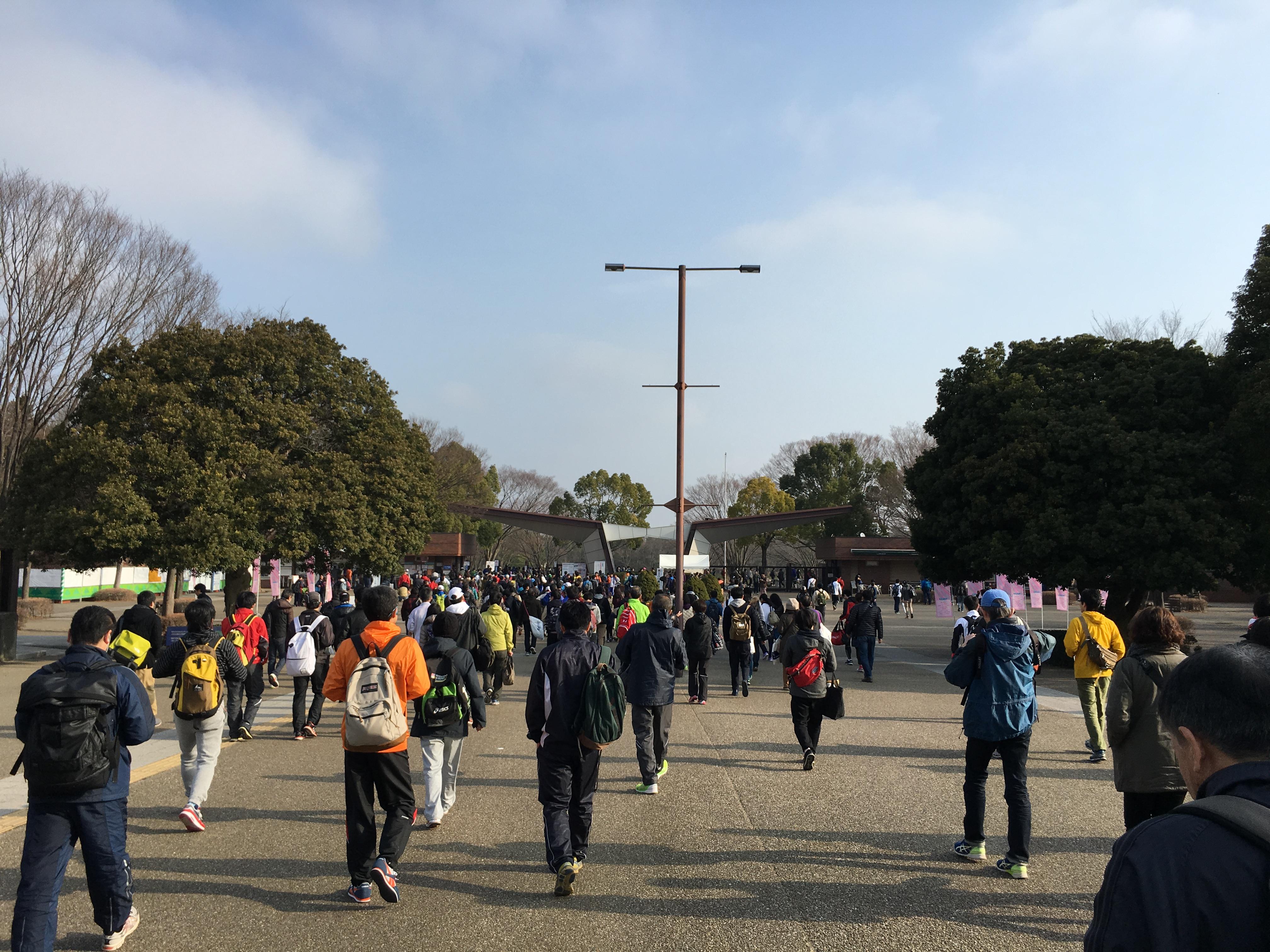 立川ハーフマラソン2016完走。1時間31分だった僕のペースとレースについて。