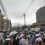 第69回富士登山競走!途中までの写真を載せておきます。