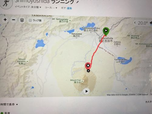 第69回富士登山競走!悪天候で五合目打ち切りだけどやっぱりきつかった~。