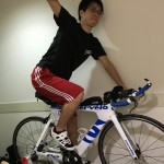 バイクトレーニング備忘メモ。真ん中に体重を乗せること。