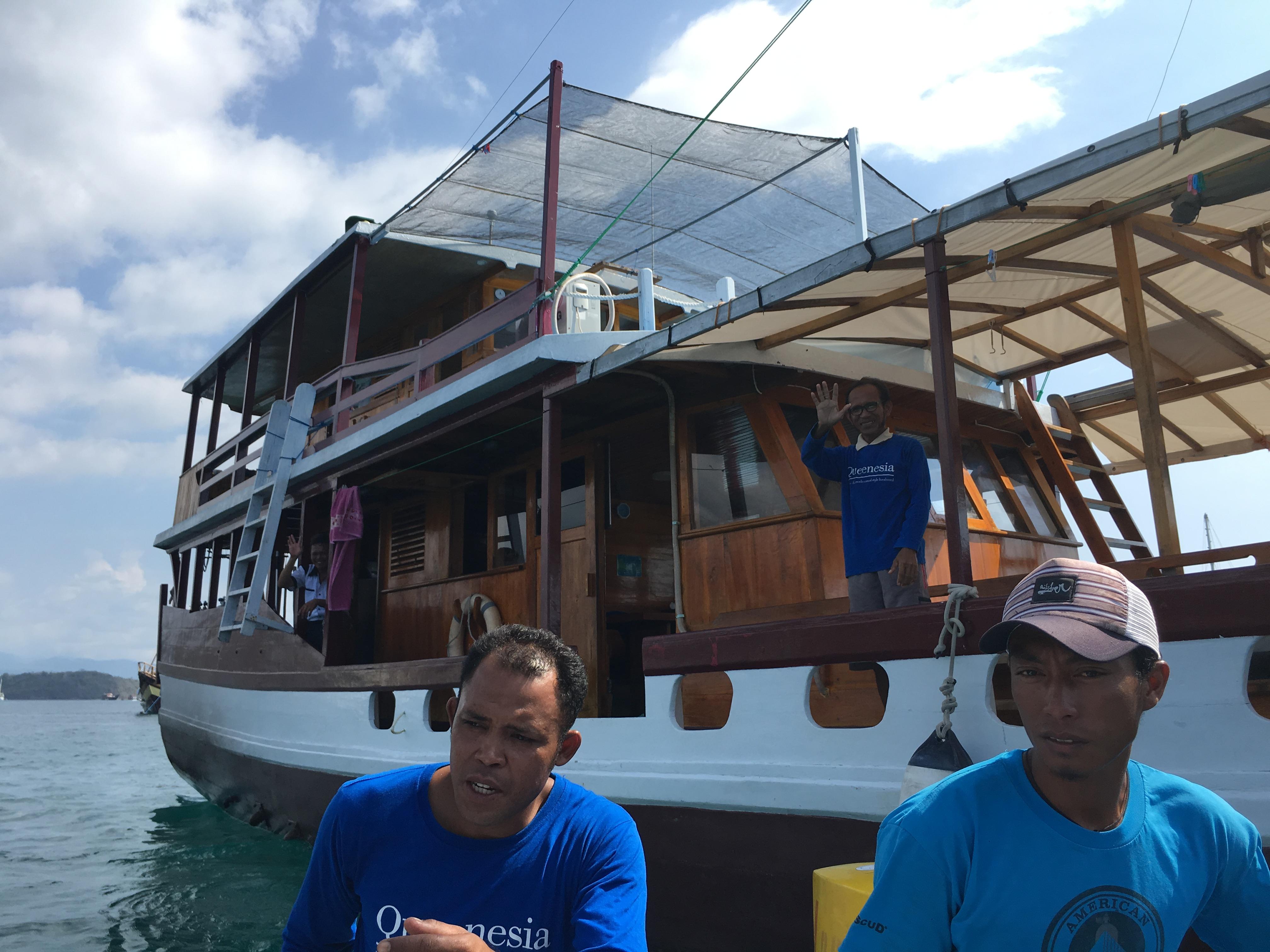 インドネシア、コモド島クルーズの話~ダイビングとMGとコモドドラゴン~その6
