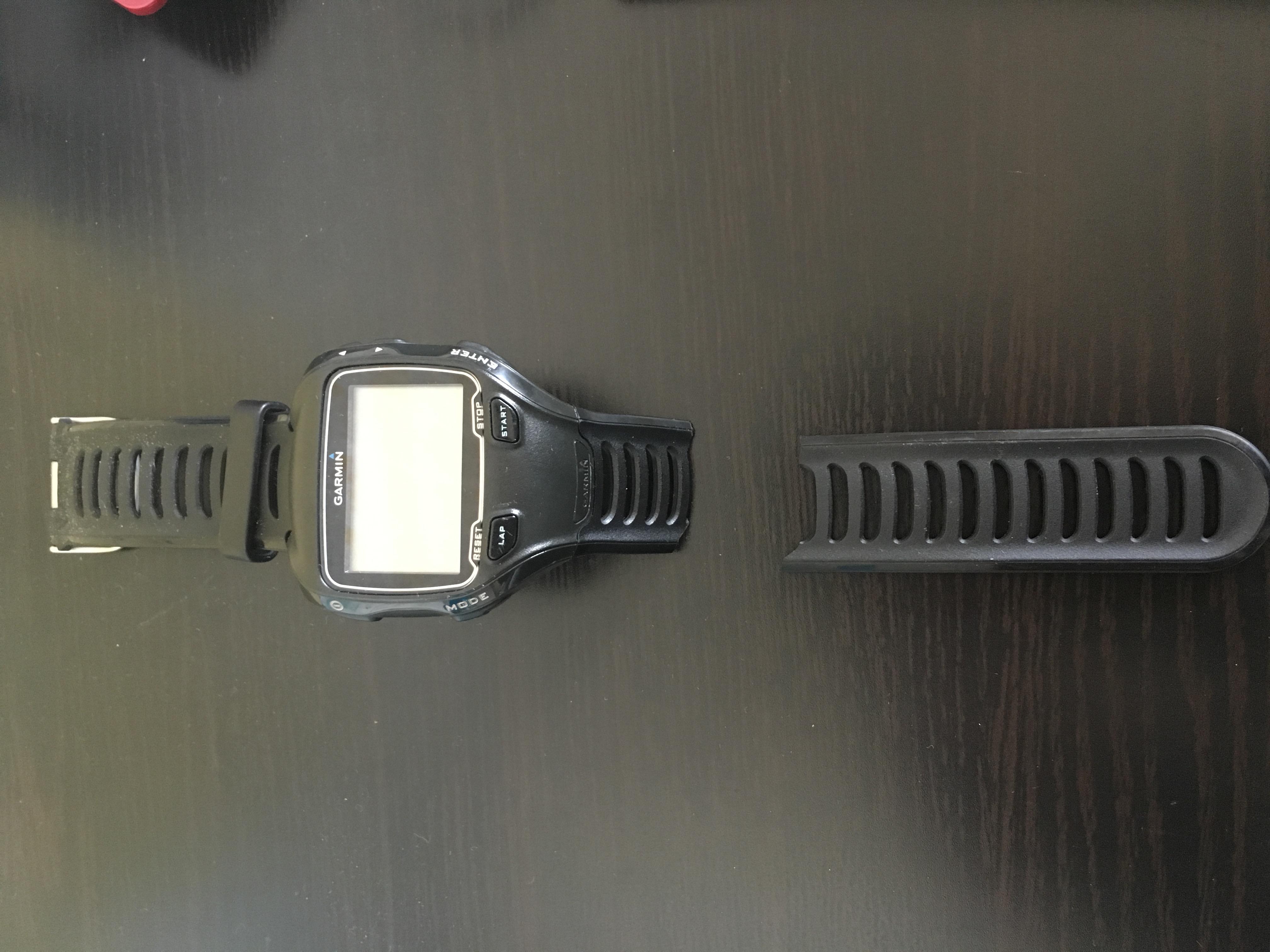 ガーミン910XTJのベルトが切れた!けど簡単に交換できました。