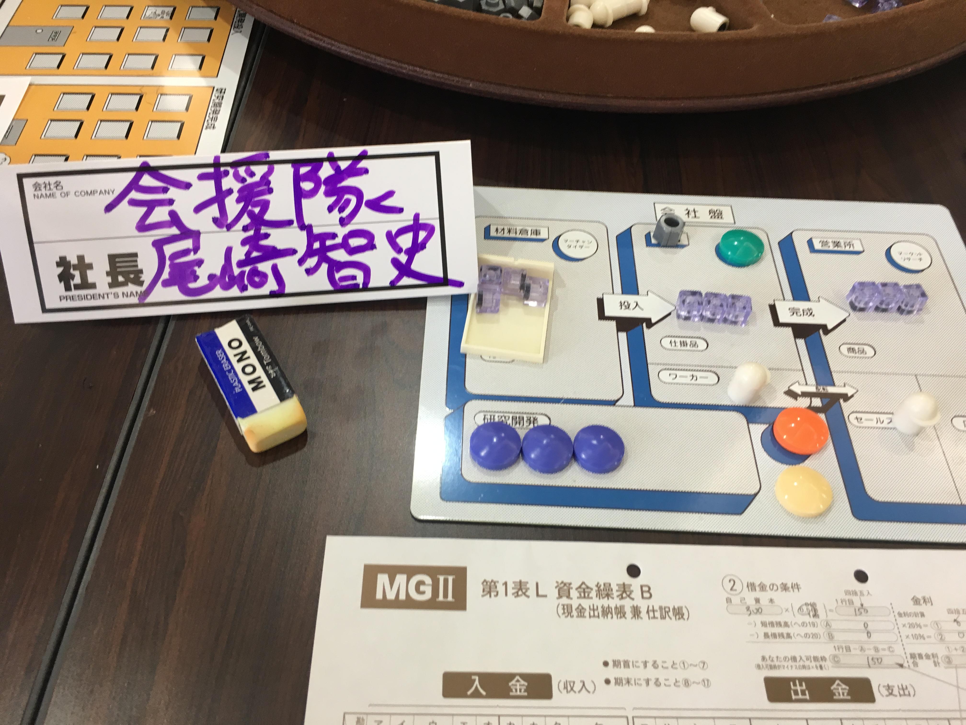 MG(マネジメントゲーム)の裾野を広げたいのでモニター募集します。