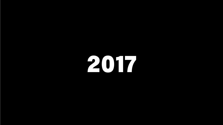 2017年の10大ニュース。1位はもちろん。。。