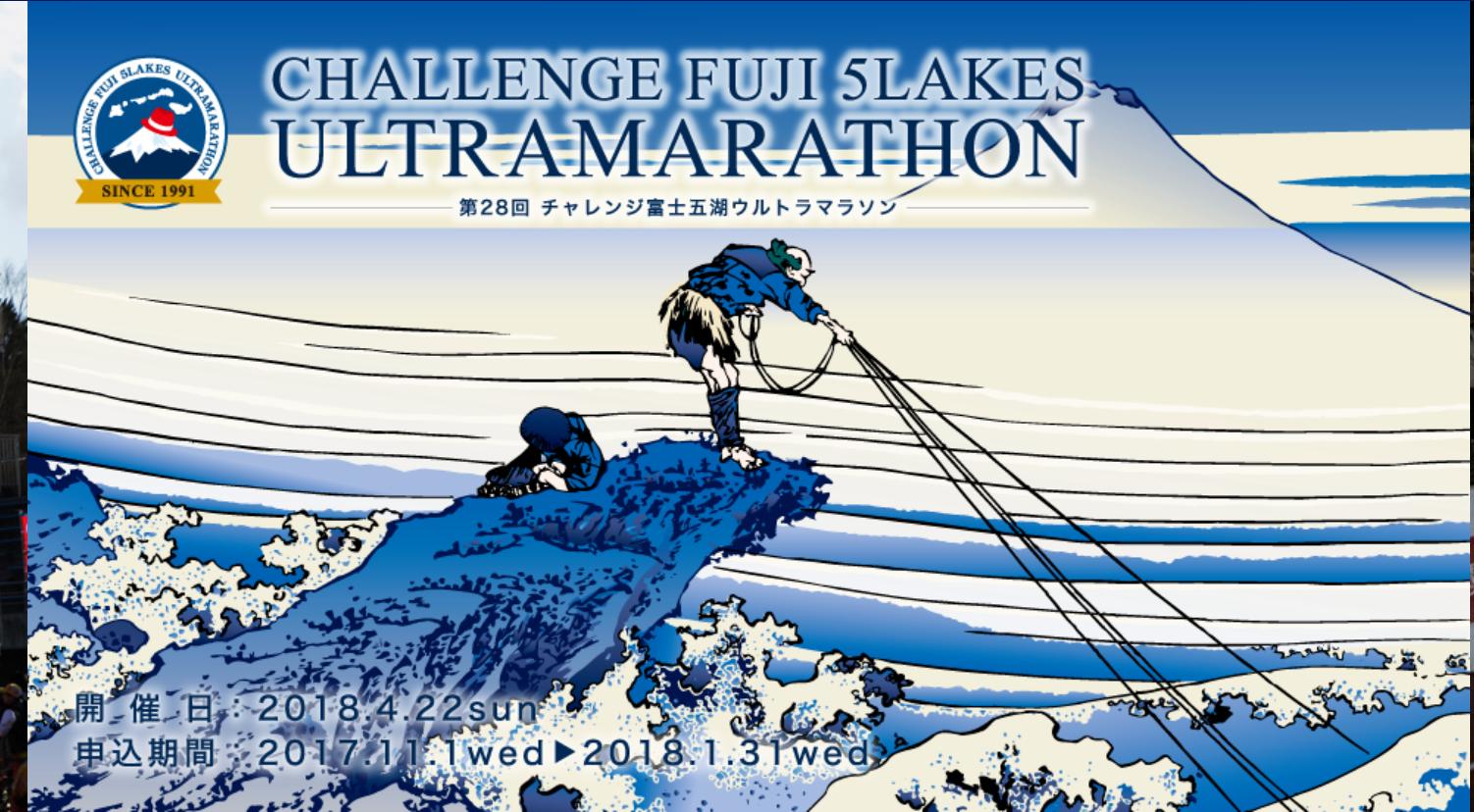 第28回チャレンジ富士五湖ウルトラマラソン118kmの部~完走記①レース申し込み等